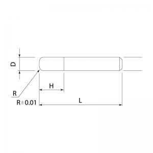 END MILLS – MICRO GRAIN CARBIDE END MILLS (4 Flute) PRV-TM4R PROCHI