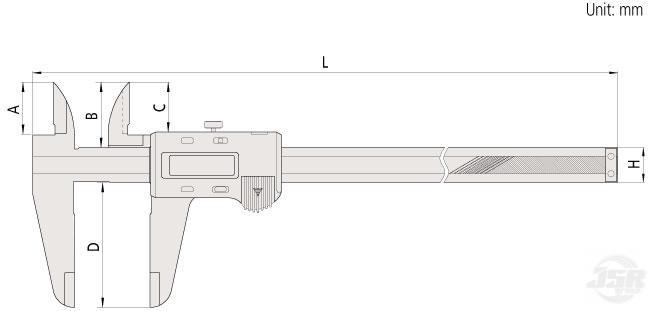 Long-ABSOLUTE-digital-caliper MITUTOYO
