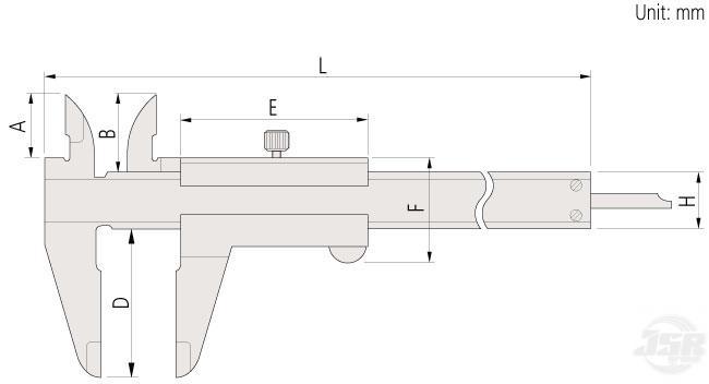 Vernier-Caliper-Standard Mitutoyo