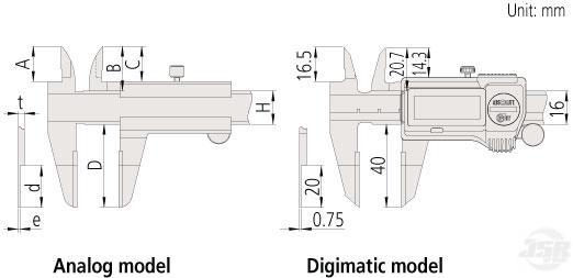 Blade-Type-Caliper MITUTOYO