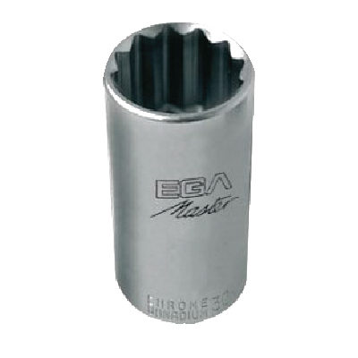 "Socket Wrench 3/8"" ลูกบ๊อกรู 3/8"" EGA MASTER"