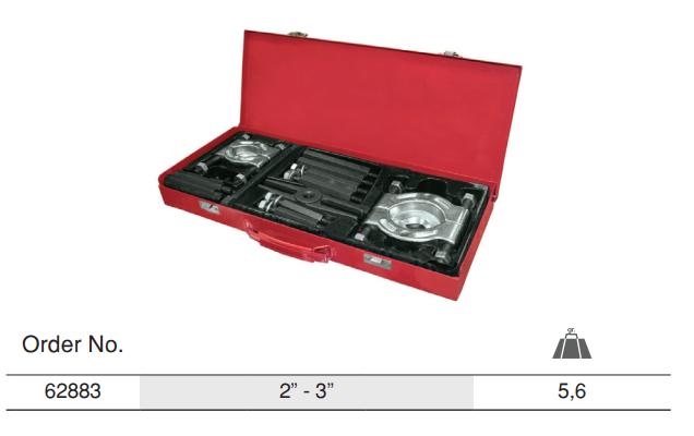 Pullers For Bearing Separator Set เฉพาะจานเหล็กดูดลูกปืน ชุด  Table