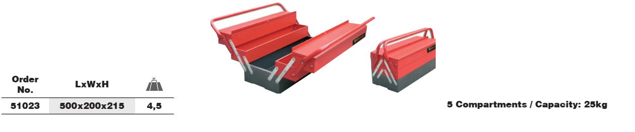 Tool Box กล่องเครื่องมือ Ega Master 51023 table