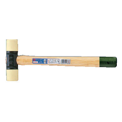 Plastic Hammer ค้อนพลาสติกด้ามไม้ EGA Master
