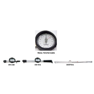DB/DBE/DBR Dial Indicating Torque Wrench ประแจขันปอนด์ TOHNICHI