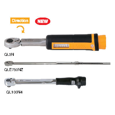 QL/QLE2 - Ratchet Head Type Adjustable Torque Wrench ประแจขันปอนด์ TOHNICHI