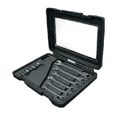 Mastergear Combination Ratchet Wrench Set (mm) ประแจปากตายข้างแหวนฟรีชุด (มิล) Ega Master