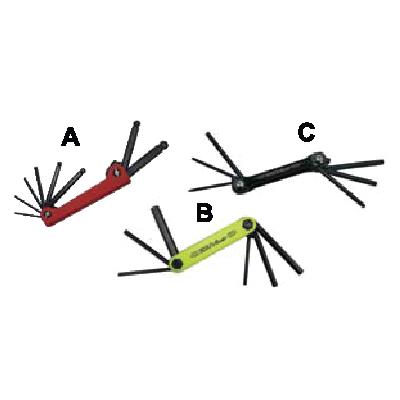 Kit Of Hexagonal Key Wrenches ประแจหกเหลี่ยมชุด Ega Master