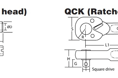 Heads - Optional Replaceable Heads หัวประแจต่อด้ามประแจปอนด์ BESTOOL-KANON