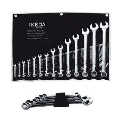 ประแจแหวนข้างปากตายชุด Combination Wrench Set Ega Master