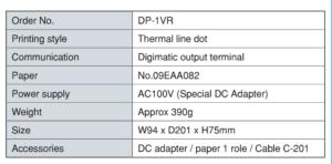 Digital Printer เครื่องพิมพ์ดิจิตอล IMADA SEISAKUSHO table