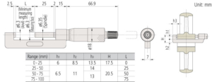 147-Hub-Micrometer-Mitutoyo-
