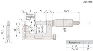 317_117-Uni-Mike-Interchangeable-Anvil-Type-Mitutoyo