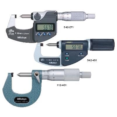 Crimp Micrometers SERIES 342,112,142 Mitutoyo