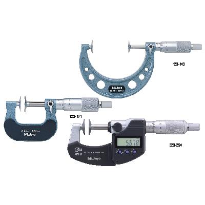 Disk Micrometers SERIES 323,223,123 Mitutoyo