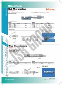 Hub-Wire Micrometers SERIES 147 Mitutoyo