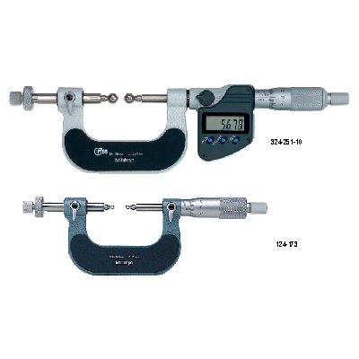 Gear Tooth Micrometers SERIES 324,124 Mitutoyo