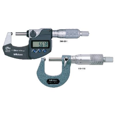 Tube Micrometers SERIES 395,115,295 Mitutoyo