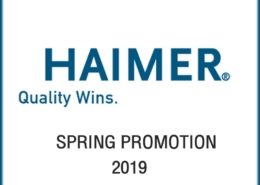 haimer spring promotion 2019
