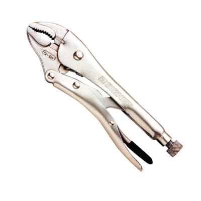 CURVED JAWS LOCKING PLIERS