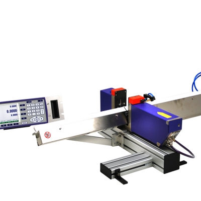 LASER SYSTEM FOR THROUGH-FEED SINGLE DIAMETER MEASURING AND GRINDER REGULATION GRINDLINE MARPOSS