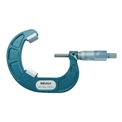 114-105-Mitutoyo V-Anvil Micrometer