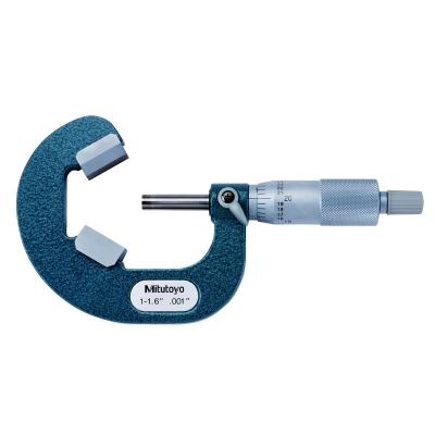 114-113-Mitutoyo V-anvil Micrometer