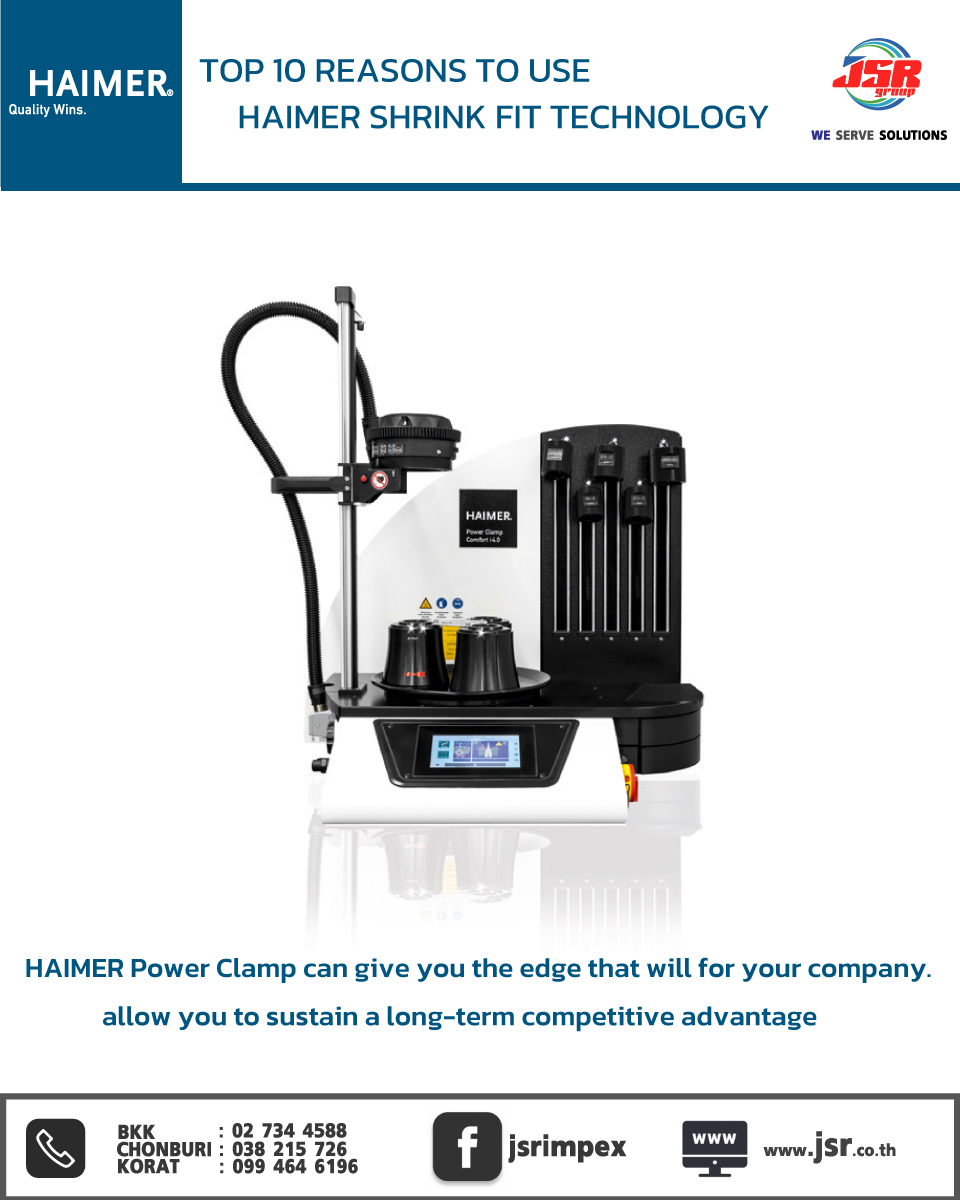 TOP 10 REASONS TO USE HAIMER SHRINK FIT TECHNOLOGY