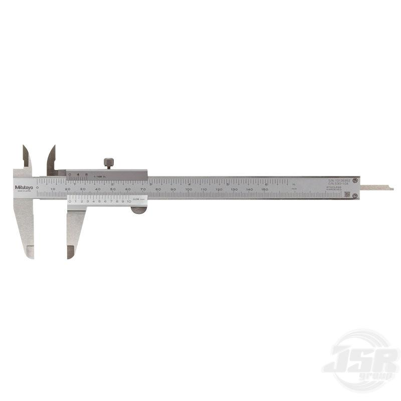 VERNIER CALIPER - STANDARD MODEL | MITUTOYO เครื่องมือวัด เครื่องมืออุตสาหกรรม เวอร์เนียคาลิเปอร์ JSR GROUP