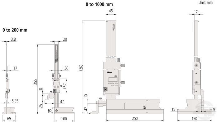 ABSOLUTE-DIGIMATIC-HEIGHT-GAGE-SERIES-570--STANDARD-MODEL